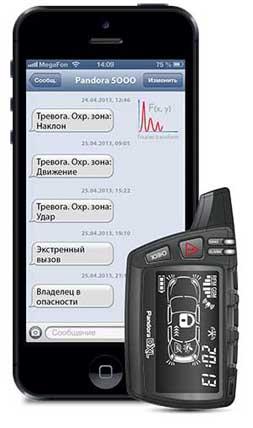 оповещение на мобильный телефон