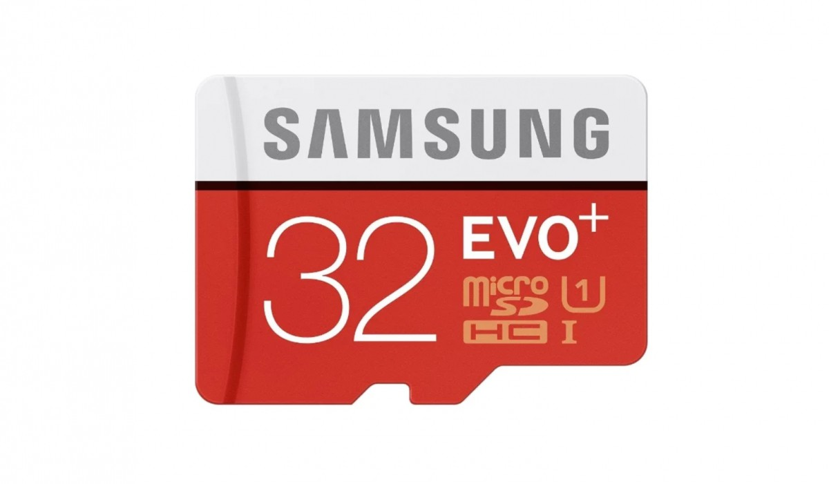 Разное Samsung EVO Plus Micro 32Gb +адаптер (20/95 mb/s) карта памяти