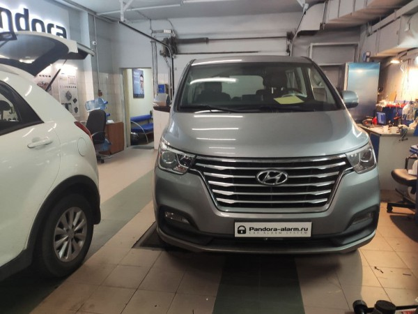 Hyundai Grand Starex Urban Exclusive установка Pandect X-3110 и WEBASTO
